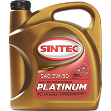 Олія ДВС 5w-30, Sintec, Platinum SN/CF,   4л, синт