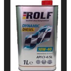 Олія ДВС 10w-40, Rolf, диз, Dynamic Diesel CI - 4/SL,   1л, п/синт