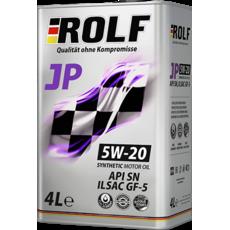 Масло моторное 5W-20 Rolf JP GF5/ SN 4л синтетика