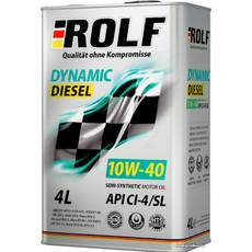 Масло ДВС 10W-40, Rolf, диз, Dynamic Diesel CI-4/SL,   4л, п/синт