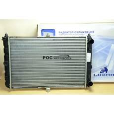 Радиатор охлаждения 2108 (алюм) (LRc 01080) ЛУЗАР