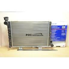 Радіатор охолодження 2106 (алюм) АВТОВАЗ (ОАТ, ДААЗ)