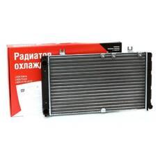 Радиатор охлаждения 2112 (алюм) карб (универс) АвтоВАЗ (ОАТ,ДААЗ)