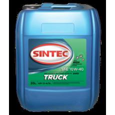 Масло моторное 10W-40, Sintec, TRUCK CI-4/SL,  20л, п/синт