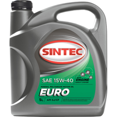 Олія ДВС 15w-40, Sintec, EURO SJ/CF,   5л, мінеральна