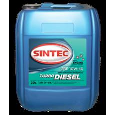 Олія ДВС 10w-40, Sintec, TRUCK Turbo Diesel CF - 4/CF/SJ,  20л, п/синт