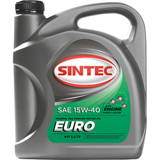Олія ДВС 15w-40, Sintec, EURO SJ/CF,   4л, мінеральна