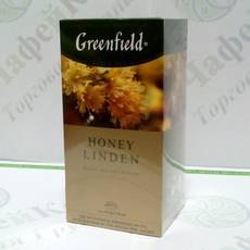 Чай Greenfield Honey Linden Мед и Липа 25*1,5г (10)