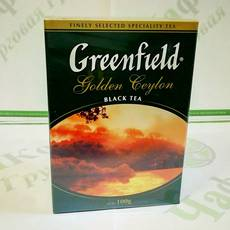 Чай Greenfield Golden Ceylon 100г