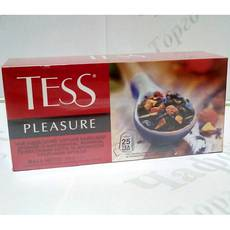 Чай TESS Pleasure Плэжа черн. 25*1,5г (24)