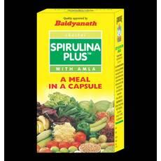 Спіруліна плюс з амлою Spirulina Plus 60 капсул Бадьянатх Індія