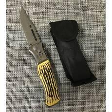 Нож выкидной с костяной ручкой  21см / АК-29