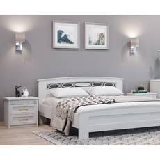Двоспальне ліжко Верона з масиву ясена