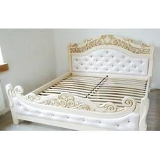 Дерев'яне ліжко Корона