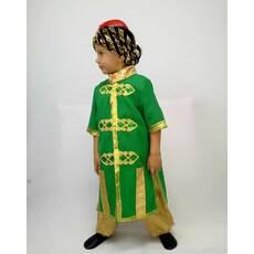 Карнавальний костюм Султана (халат зелений)
