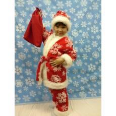 Новорічний костюм Санта Клауса (хутро)