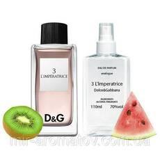 """Жіночі духи на розлив Dolce & Gabbana """"3 L'imperatrice""""  №25  100мл"""