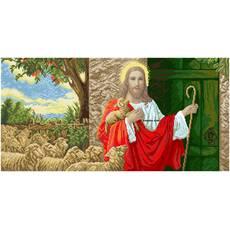 """Канва для вишивання бісером """"Ісус стукає у двері(великий)"""""""