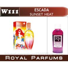 Жіночі духи на розлив Royal Parfums  Escada Sunset Heat  №111    100 мл