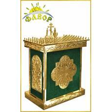 Стіл панахида 100 свічок (розбірний) оксамит