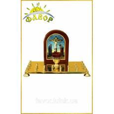 Крышка панихидного стола, 24 свечи (литография)