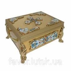 Ковчег для частиц святых мощей 8-9-12 частиц, 28×23 см