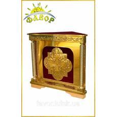 Дьяконник (трикутний жертовник з дверцой)