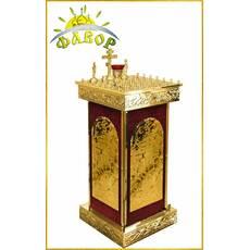 Стіл панахида 50 свічок оксамит (розбірний)