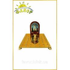 Кришка столу панахиди 36 свічок, літографія