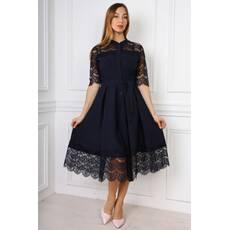 45d8c88185c860 Жіноче мереживне плаття, міді, 328 - Товари - Купити стильні сукні ...