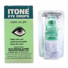 Айтон ITONE аюрведические очні краплі 10 мл