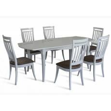 Комплект стіл Маркіз-2 + стільці Маркіз-2 білий купити у Львові