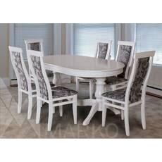 Комплект стіл Едельвейс + стільці Едельвейс білий купити в Україні