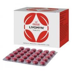 Лівомін Livomyn Чараки 30 таблеток для печінки