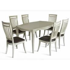 Комплект стіл Маркіз-2 + стільці Маркіз-2 слонова кістка купити в Україні