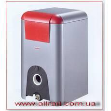 Котёл напольный битопливный (приодный газ или диз.топливо)с чугунным теплообменником. Elbal Dual 73