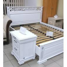 Біле ліжко Лорен від виробника