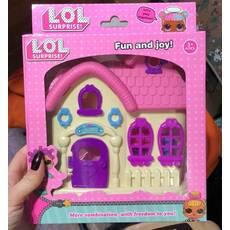 Лол будиночок з лялькою лол
