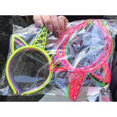 Обруч Единорог пластик
