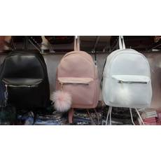 Рюкзак  эко кожа с мехом в ассортименте 12 цветов