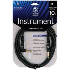 PLANET WAVES PW-GRA-10 Custom Series Instrument Cable 10ft