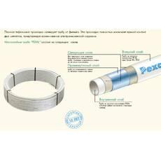 Труба металопластиковая в изоляции Valsir Pexal 20/2.5 (Италия).