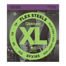 D`ADDARIO EFX165 XL FLEX STEELS REG LIGHT TOP / MED BOTTOM 45-105