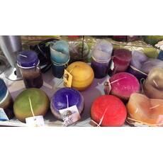 Свечи арома шар /вес 150 грамм в ассортименте