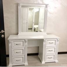 Туалетний столик Ларго із дзеркалом
