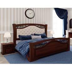 Ліжко Беатріс з мякою вставкою на узголівї