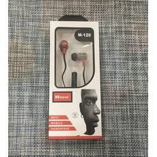 Наушники вакуумные с микрофоном  / М-120