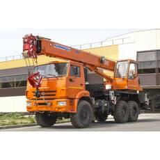 Автомобільний кран КС-35719-7-02 Клинці на шасі КАМАЗ-43118 купити в Україні