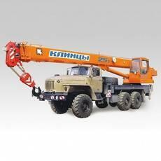 Автокран Клинці КС-55713-3К-2 на базі УРАЛ-5557 купити в Україні