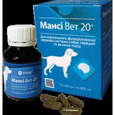 Мансі Вет 20+ для нервової системи собак